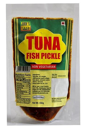 Judes Food Products Tuna Fish Pickle, 150 g