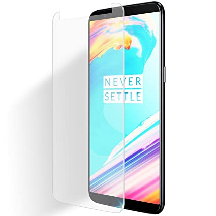 half off c9692 de3a2 Olixar OnePlus 5T Tempered Glass Screen Protector Application Card and  Cleaning Cloth Included