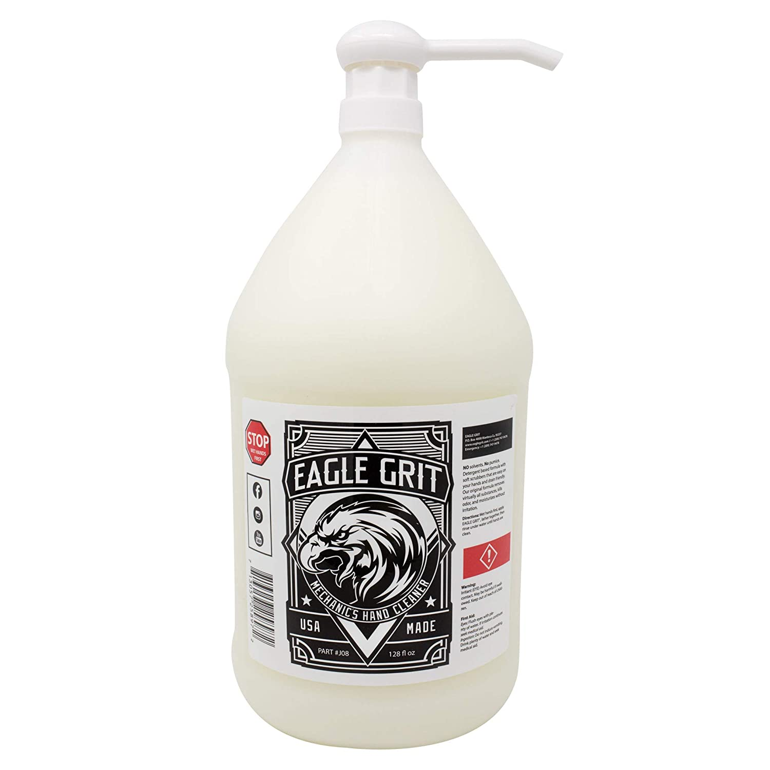 Eagle Grit Heavy Duty Industrial Hand Cleaner For Mechanics