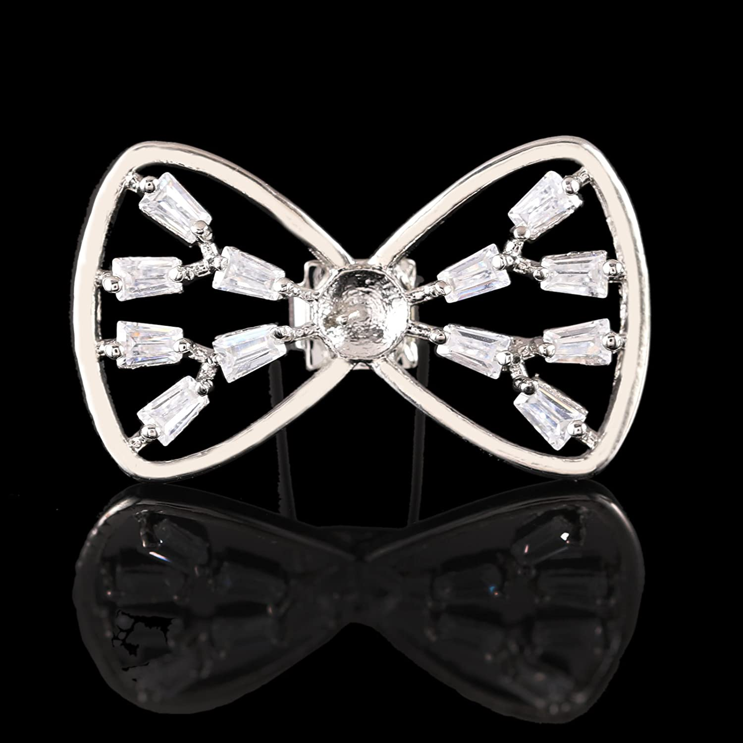 7e1e0572b1141 HerZii Shoe buckle shoes inlaid zircon shoes accessories fashion ladies  clothing luggage accessories (A): Amazon.co.uk: Shoes & Bags