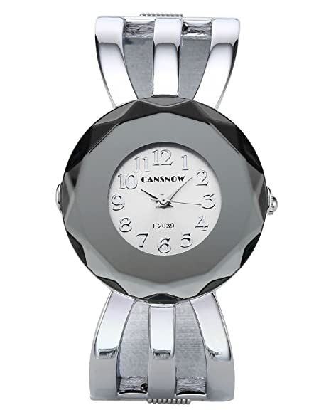 JSDDE Reloj mujer reloj Elegant pila reloj gruesa reloj relojes aleación Relojes Junior cuarzo Analogue