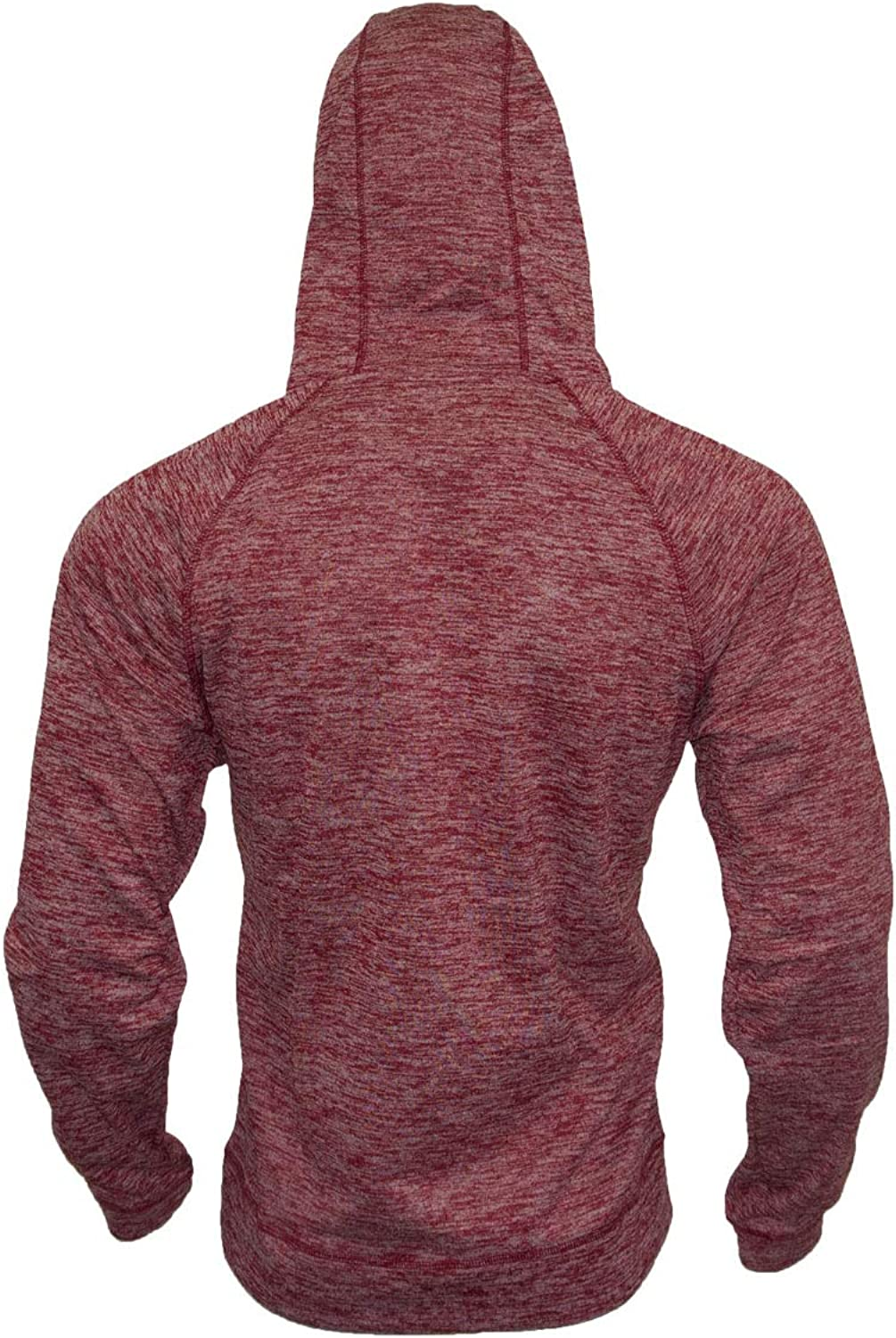 Le G Fleece Outerwear Hoodies Sweater with Second Pocket Zipper