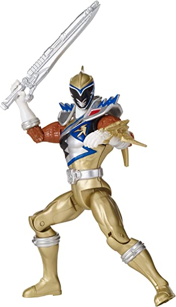 Power Rangers Dino Charge 5 Gold Ranger Action Hero Action Figure Bandai America Incorporated 42209