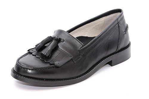 Petasil - Mocasines para niña Negro negro: Amazon.es: Zapatos y complementos