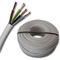 Cable de plástico para manguera, redondo, cable LED