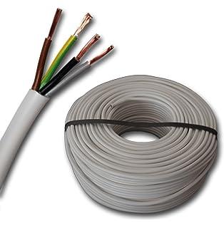 PVC Steuerkabel YSLY-JZ Querschnitt 4x0,5 qmm 50m Steuerleitung 0,35EUR//1m