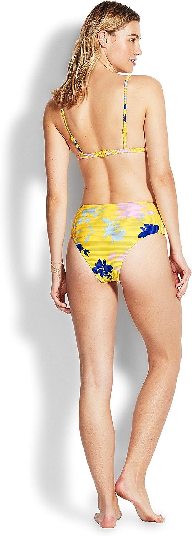 Seafolly Womens Over The Shoulder Bralette Bikini Top Swimsuit Bikini Top