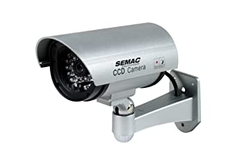 SEMAC Electronique Cam 562 Gris Bala cámara de seguridad ficticia - Cámaras de seguridad ficticias (
