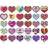 15 Designs 1 12 x 3 12 Valentine/'s Day Wedding Favors Wedding Temporary Tattoo Assortment 120 Pieces
