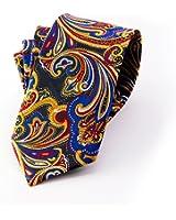 MENDENG New Classic Plaids Check Baby Blue Jacquard Woven Silk Men's Tie Necktie
