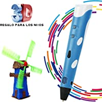 BANGBO Intelligent 3D Stereo Drawing Pen for Doodling, Art and Craft Making Compatible with PLA/ABS Filaments Best Gift DIY 3D Modeling for Kids or Friend