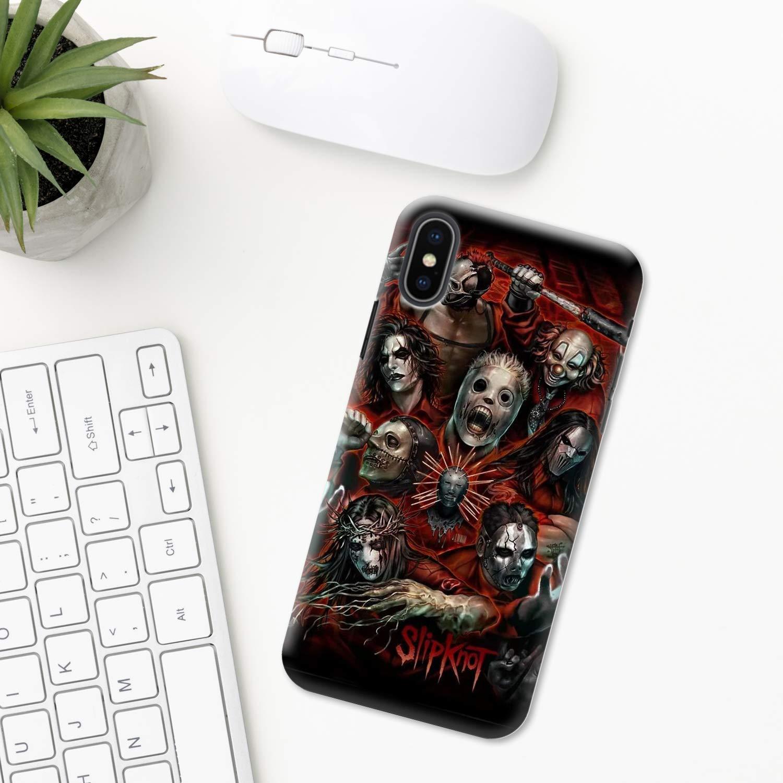 Slipknot case iPhone case 11 Pro X XR XS Max 8 Plus 7 6s 6 5 5s se ten 10 hard plastic transparent silicone mobile phone cover art mobile case Slipknot