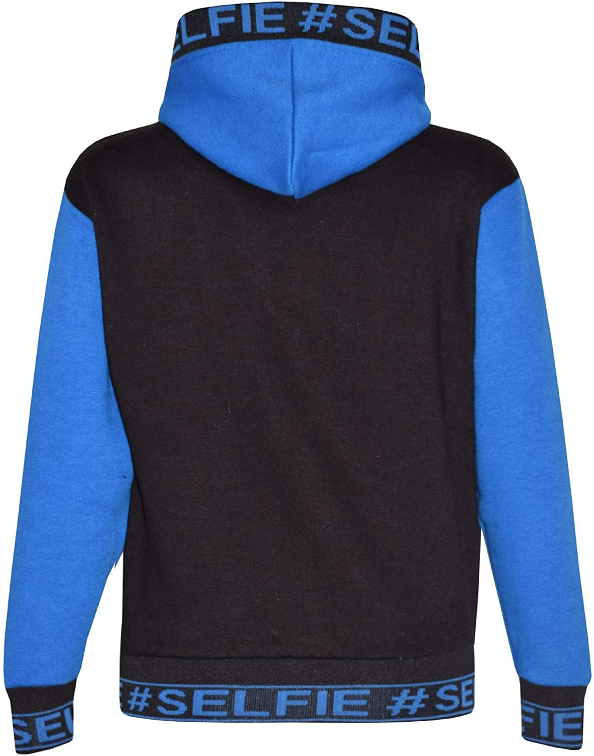 A2Z 4 Kids/® Kids Girls Boys Tracksuit Designers Blue #Selfie Embroidered Zipped Top Hoodie /& Botom Jogging Suit Joggers Age 5 6 7 8 9 10 11 12 13 Years
