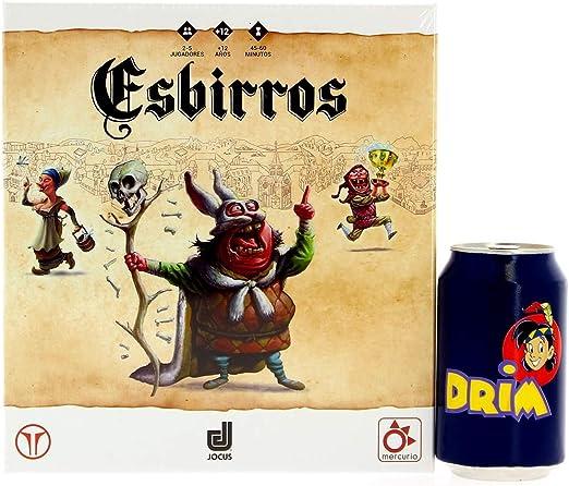 Mercurio- Esbirros Juego de Estrategia, 2-5 Jugadores, 12 Años, Multicolor (J0001): Amazon.es: Juguetes y juegos