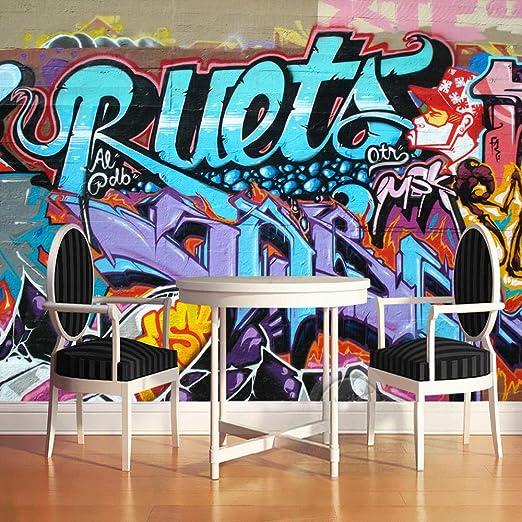 Papel Pintado Fotomural Graffiti hip hop Fondo de Pantalla ...
