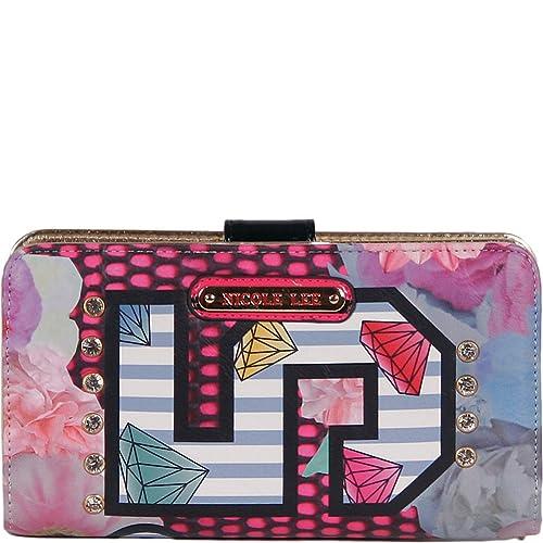 Cartera/Monedero Nicole Lee No. 5 Print Wallet: Amazon.es: Zapatos y complementos