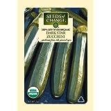 Seeds of Change Certified Organic Squash, Dark Star Zucchini - 2 grams, 20 Seeds Pack