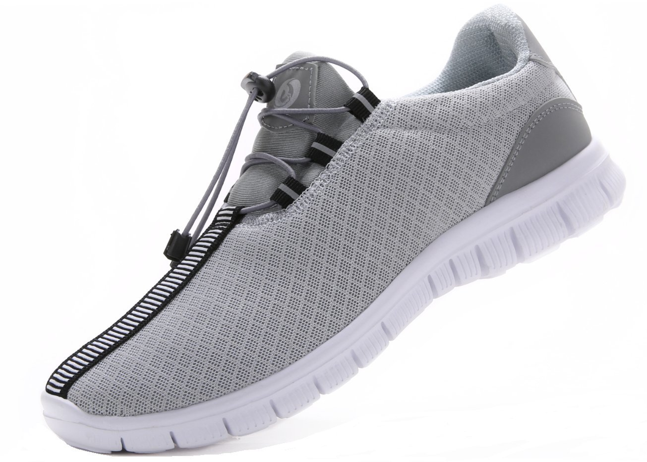 JUAN Men's Running Shoes Fashion Breathable Sneakers Mesh Soft Sole Casual Athletic Lightweight (9.5US/43EU,Men, Grey) by JUAN