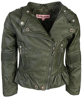 00e58017ad34 Amazon.com  Urban Republic Toddler   Big Girls Faux Leather ...
