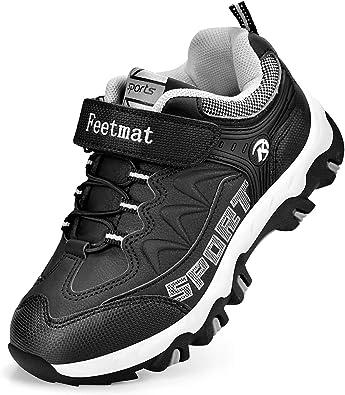 Amazon.com | QANSI Boys Sneakers Waterproof Kids Tennis Running Hiking  Shoes | Sneakers