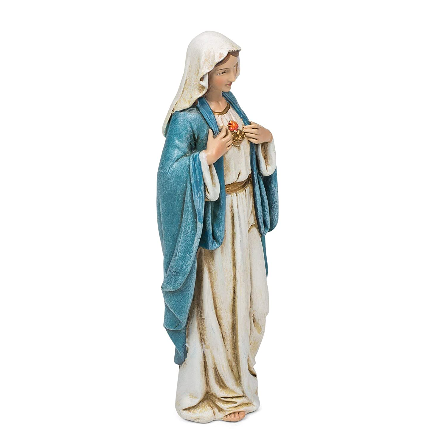Renaissance Collection Joseph's Studio by Roman Exclusive Immaculate Heart of Mary Figurine, 6-Inch