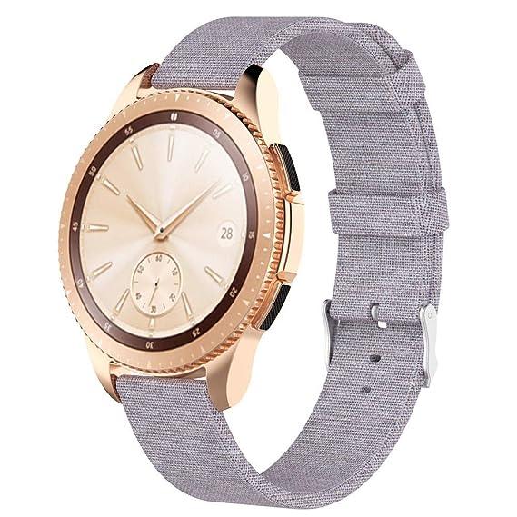 de2085da4df Amazon.com  for Samsung Gear S2 Classic Watch Band
