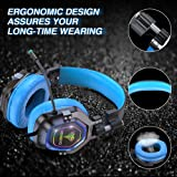 BENGOO Gaming Headset for PS4, Xbox One, PC,【4