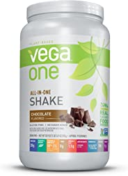 Vega One All-in-One Nutritional Shake, Chocolate, 30.9 Ounce