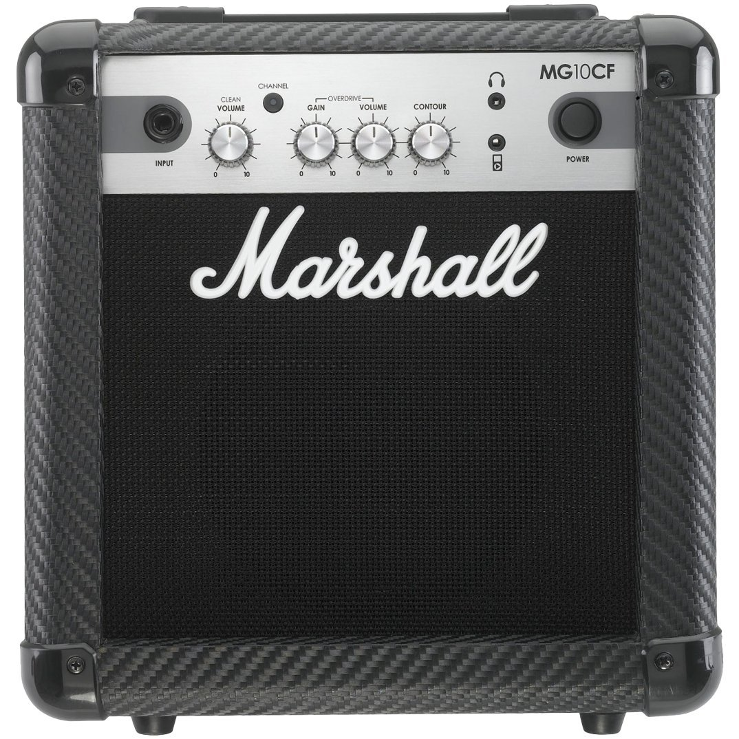Marshall Mg4 Carbon Series Mg10cf 10 Watt Guitar Combo Amplifier 32 With 2 Channels And Mp3 Input Musical Instruments