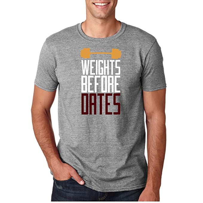 Amazon.com: AW Fashions Weights Before Dates - Workout Premium Mens ...