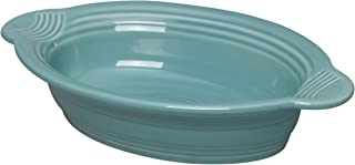 product image for Fiesta Dinnerware Small Oval Casserole Baker Dish, Turquoise