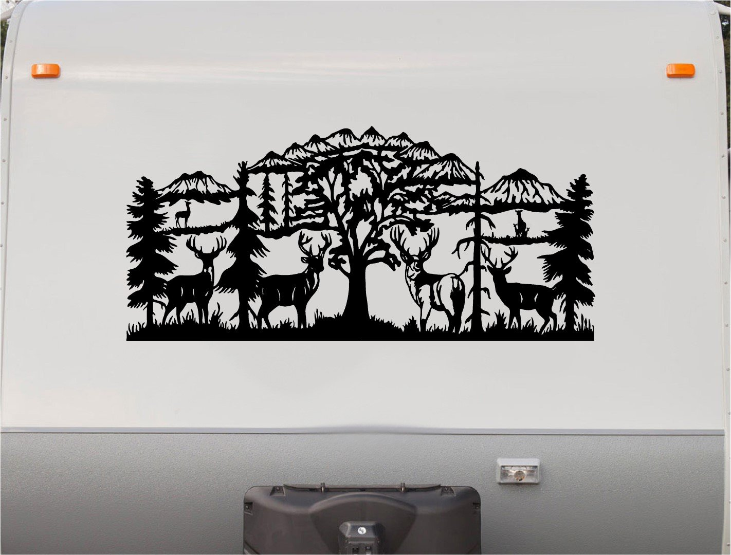 Amazon com deer mountains motor home stripe kit rv stickers trailer stickers camper vinyl decal sticker graphic motorhome decals rv stripe kit