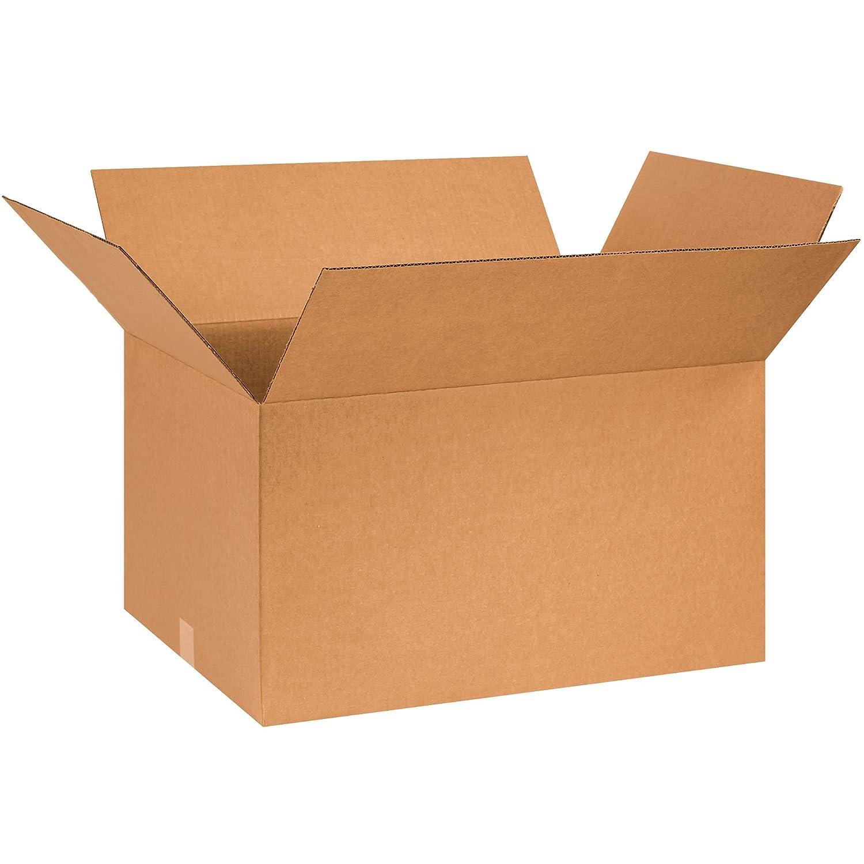 Pack of 10 BOX USA B261814 Corrugated Boxes Kraft 26L x 18W x 14H
