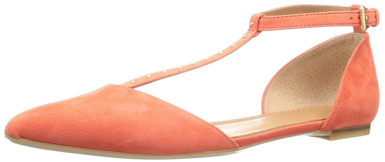 Calvin Klein Women's Ghina Pointed Toe Flat B01L8KKI7U 10 B(M) US Deep Blush