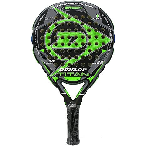 Dunlop - Pala de pádel Titan, Verde (Green)