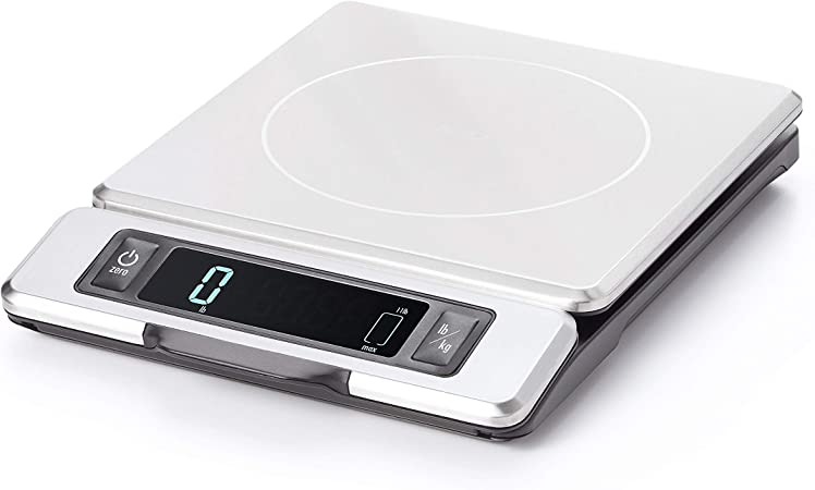 Good Grips 11 Pound Stainless Steel Food Scale
