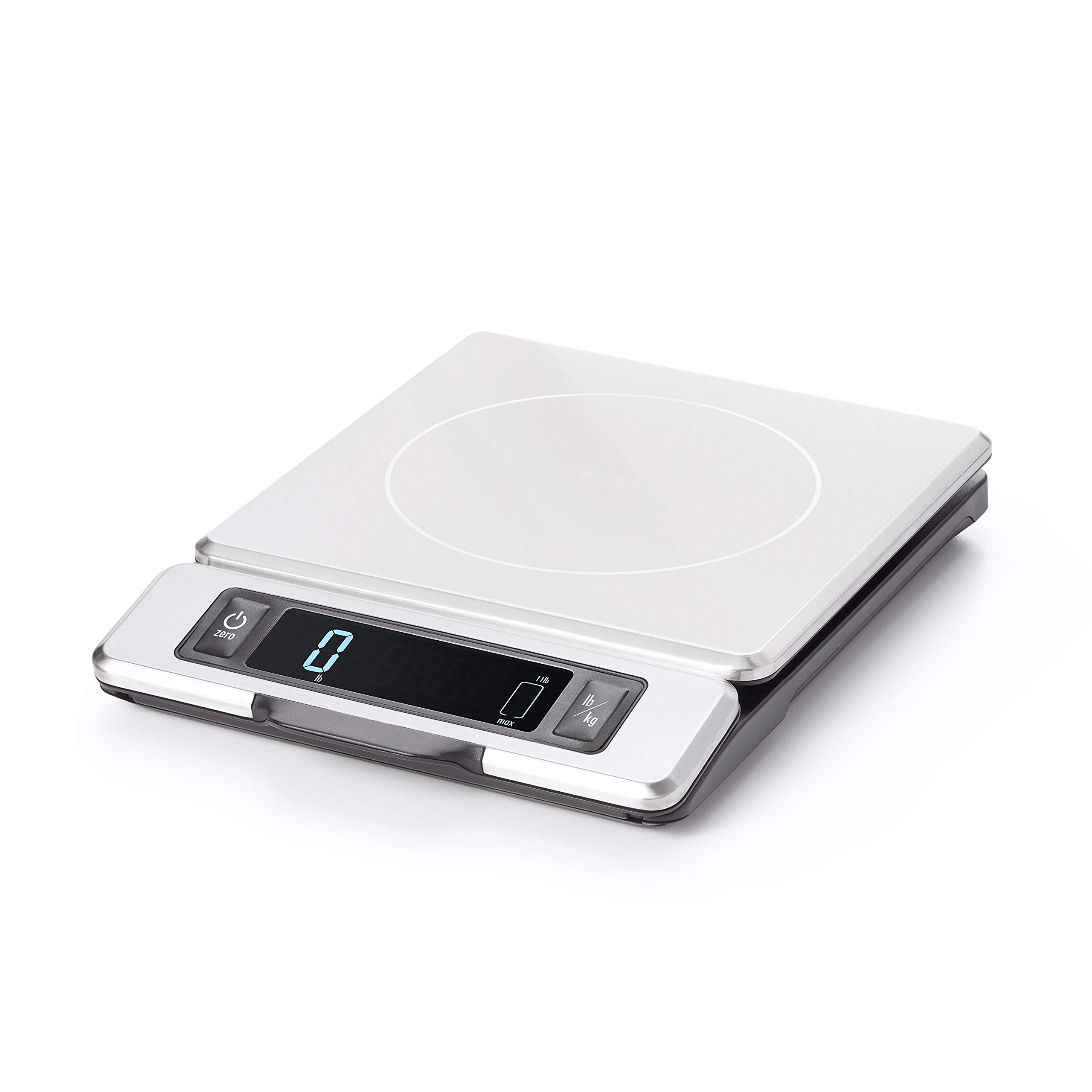 OXO Good Grips 11 Pound Stainless Steel Food Scale with Pull-Out Display by OXO