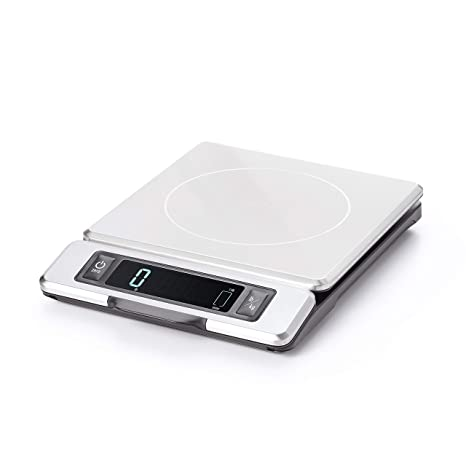 Magnificent Oxo Good Grips 11 Pound Stainless Steel Food Scale With Pull Out Display Interior Design Ideas Grebswwsoteloinfo