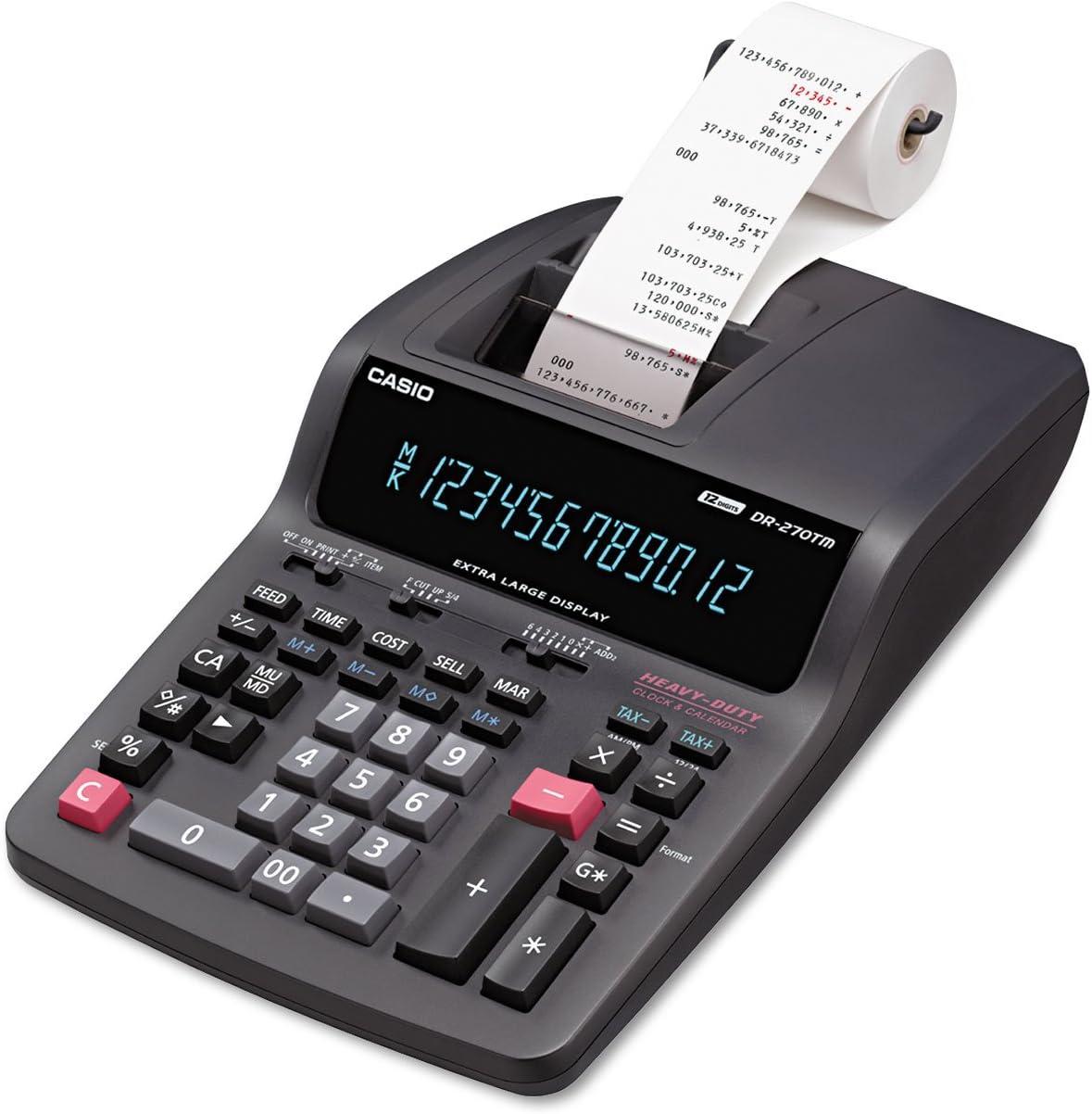 CSODR270TM - DR-270TM Two-Color Desktop Calculator