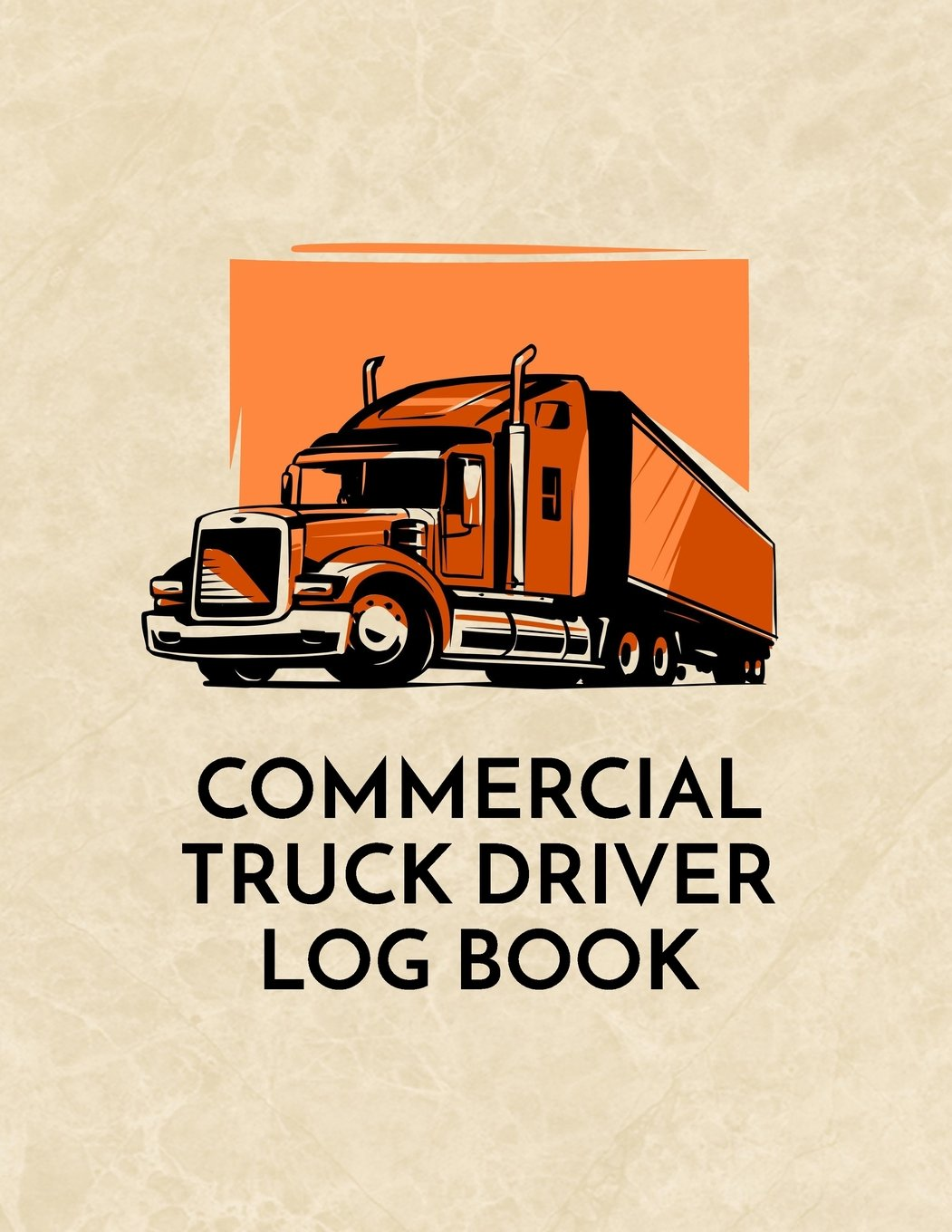 Commercial Truck Driver Log Book: Commercial Truck Repair Log Book Journal (Date, Type of Repairs, Maintenance & Mileage)(8.5 x 11) V1