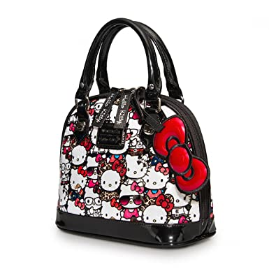 cbb51d1d7a Loungefly Hello Kitty All Stars Mini Embossed Bag  Amazon.co.uk  Clothing