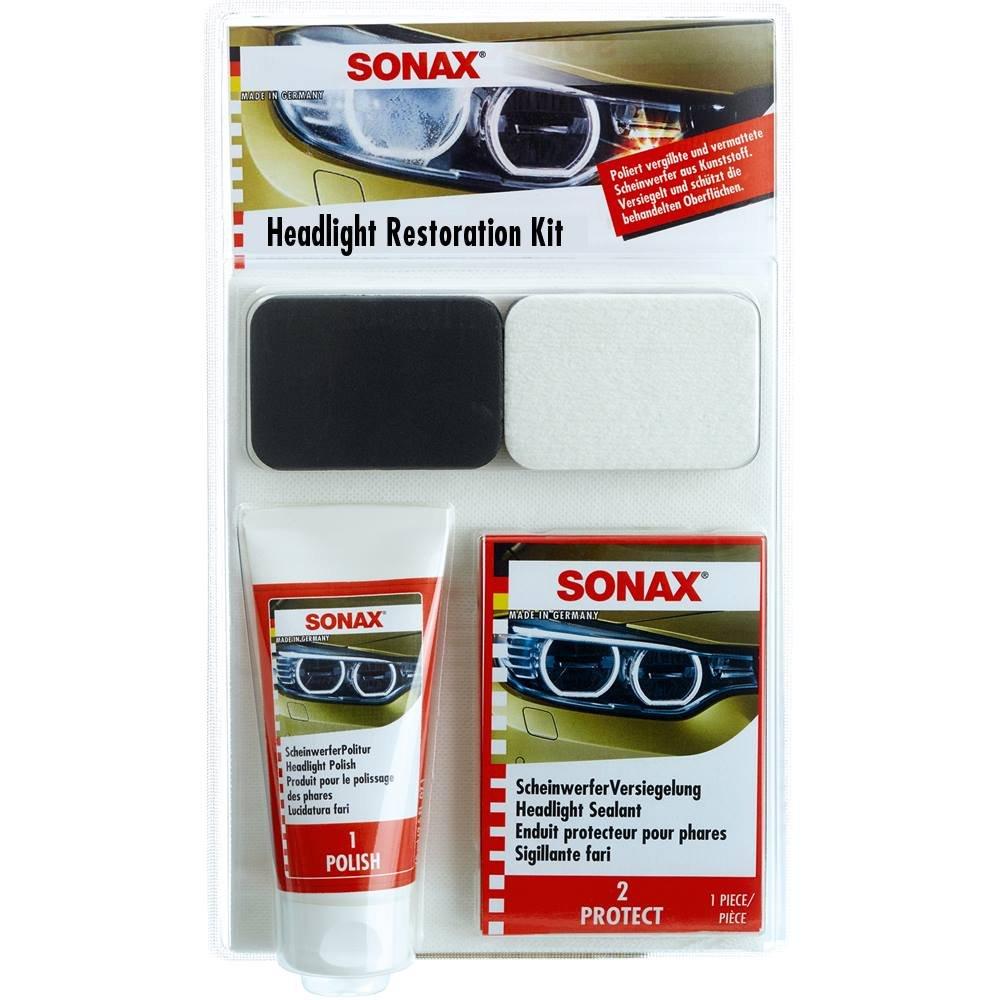 Sonax 405941-745 Headlight Restoration Kit