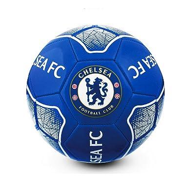 Chelsea FC - Balón de fútbol oficial modelo Prisma (1) (Azul ...
