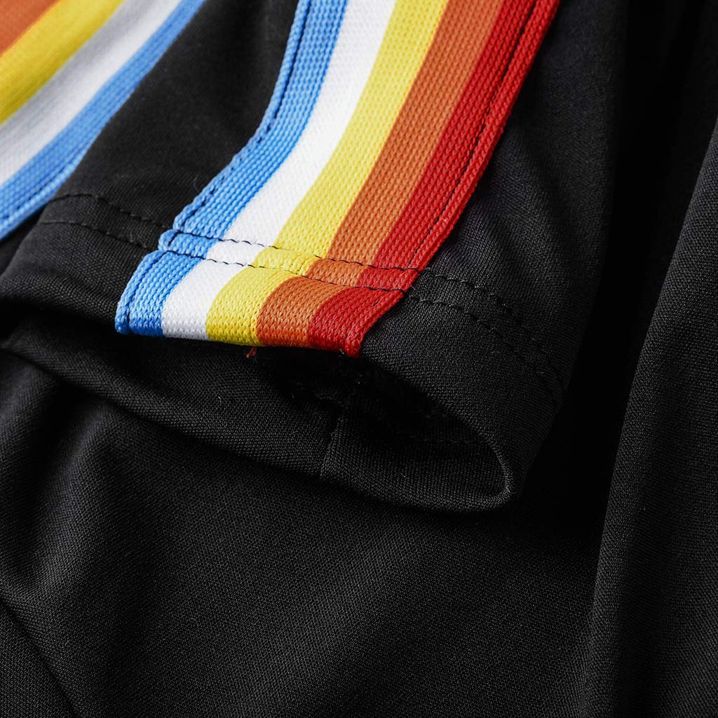 ❤JiaMeng Damen Sporthose Streifen Tunnelzug Slim Fit Stretch Jogginghose Yogapants Freizeithose Sportlich Hosen