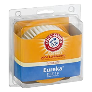 Eureka DCF-19 Odor Eliminating Vacuum Filters with Arm & Hammer