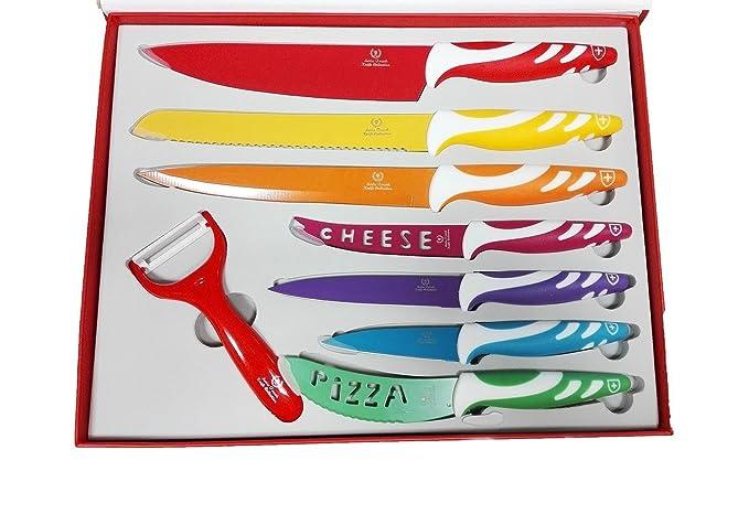 Compra ONOGAL Set de 7 Cuchillos de Ceramica Suiza ...