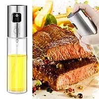 Olive Oil Sprayer, Premium Glass Oil Sprayer Bottle Vinegar Bottle Oil Dispenser for BBQ,Cooking, Frying,Salad, Baking