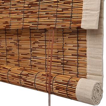 Amazon De Jalousie Rollo Bambus Vorhang Hochwertige Reed Heben