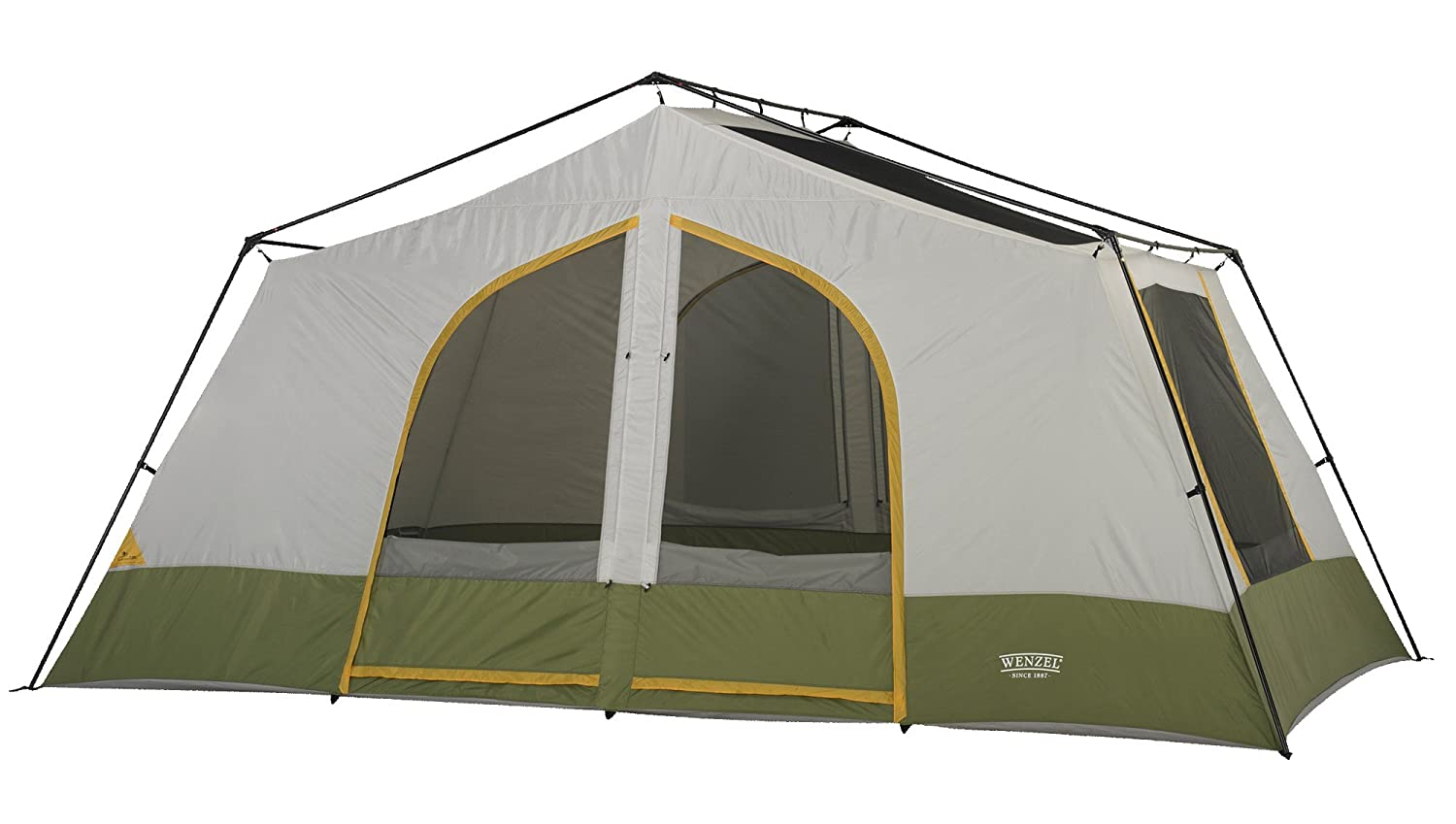 Amazon.com  Wenzel Vacation Lodge Tent - 7 Person  Family Tents  Sports u0026 Outdoors  sc 1 st  Amazon.com & Amazon.com : Wenzel Vacation Lodge Tent - 7 Person : Family Tents ...