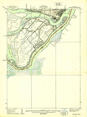 Algonac Michigan Map.Amazon Com Yellowmaps Algonac Mi Topo Map 1 24000 Scale 7 5 X